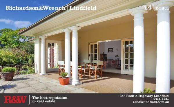 R&W Lindfield's Quarterly Book Quarterly Report 14th Edition