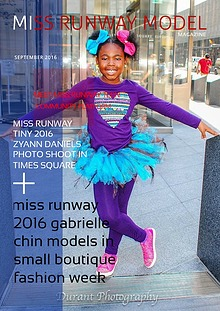 Miss Runway Model Magazine October 2017