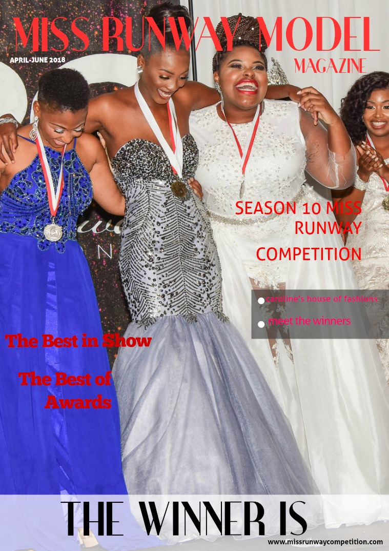Beautiful faces Edition Miss Runway Competition Season 10