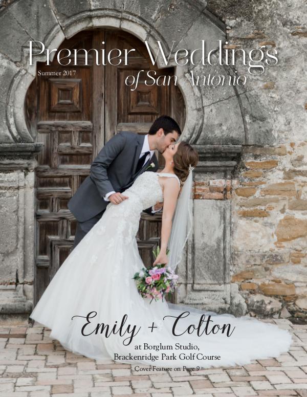 Premier Weddings of San Antonio Summer 2017