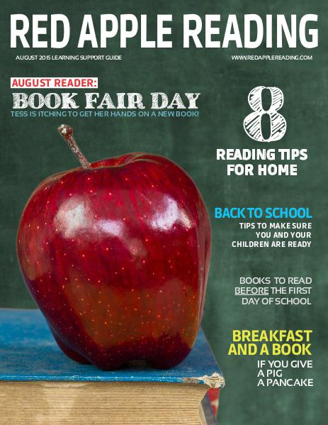 Red Apple Reading Magazine AUGUST 2015