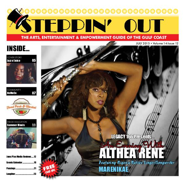 Steppin' Out Magazine July 2015