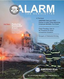 AMERIND Risk ALARM Newsletter  - 2015