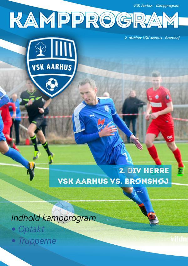 VSK Aarhus Kampprogram VSK Aarhus - Brønshøj
