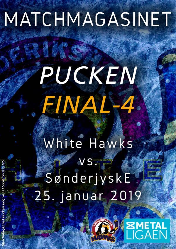 """White Hawks White Hawks vs. SønderjyskE """"Final-4"""""""