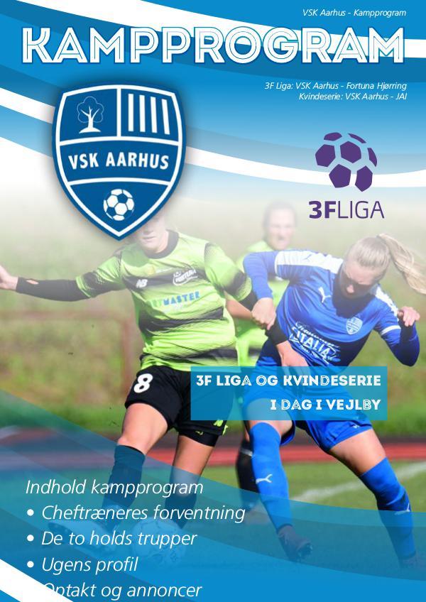 VSK Aarhus - Fortuna Hjørring 30. marts