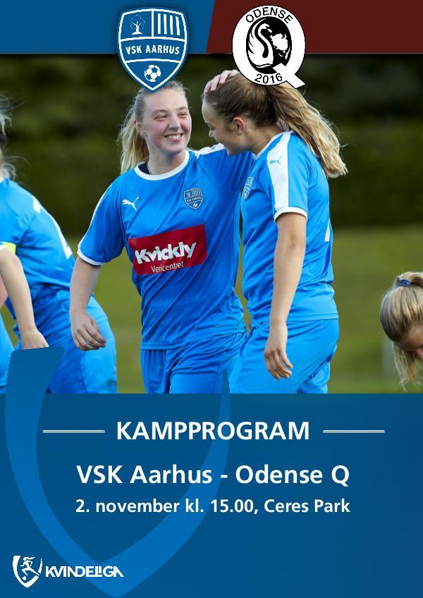 VSK Aarhus Kampprogram VSK Aarhus - Odense Q