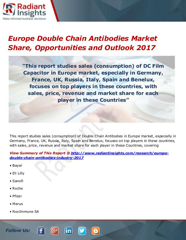 Europe Double Chain Antibodies Market Size, Share,