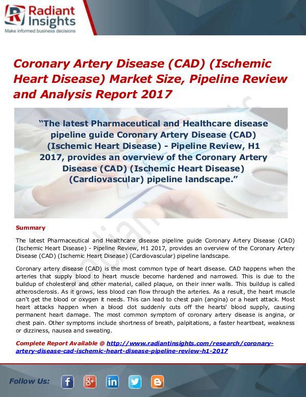 Coronary Artery Disease (CAD) (Ischemic Heart Dise