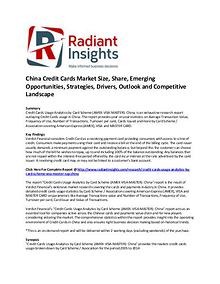 China Credit Cards Market Size, Share, Key Trends