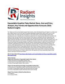 Expandable Graphite Flake Market Share, Analysis, Forecasts 2016