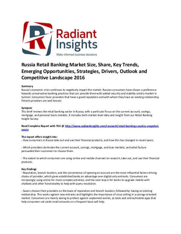 Russia Retail Banking Market