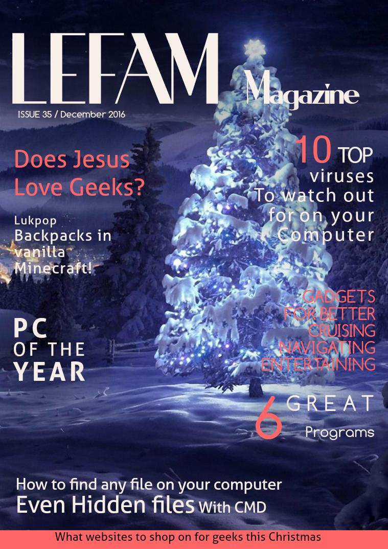 LEFAM Magazine LEFAM 35