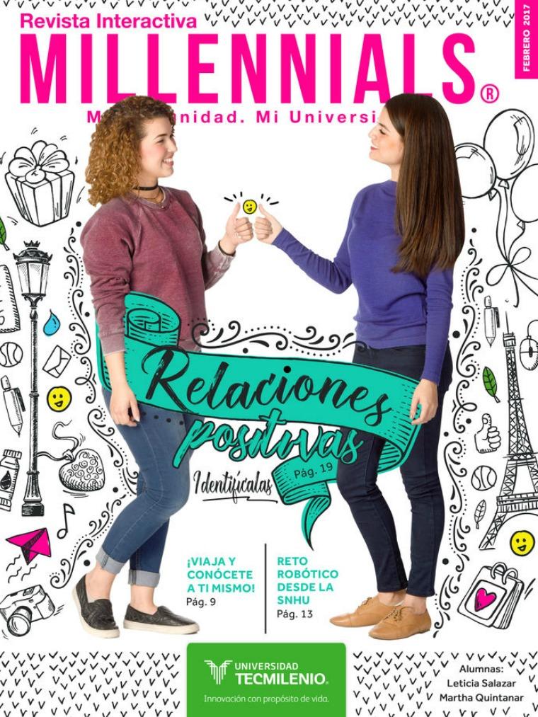 Revista Millennials Febrero 2017