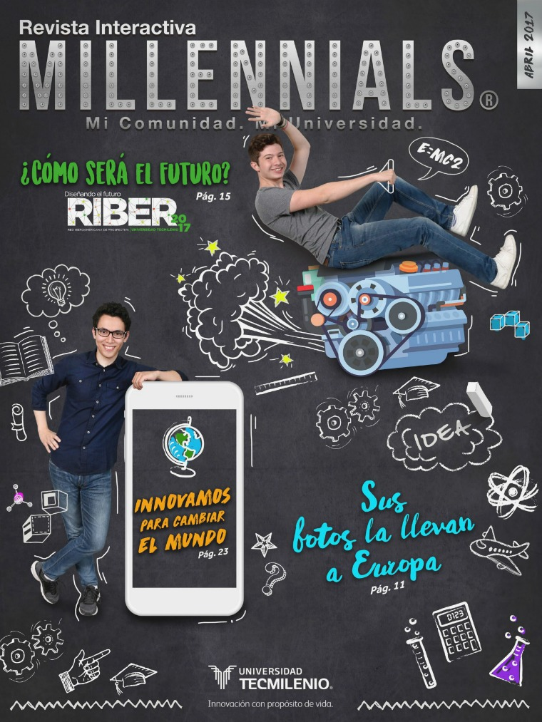 Revista Millennials Abril 2017