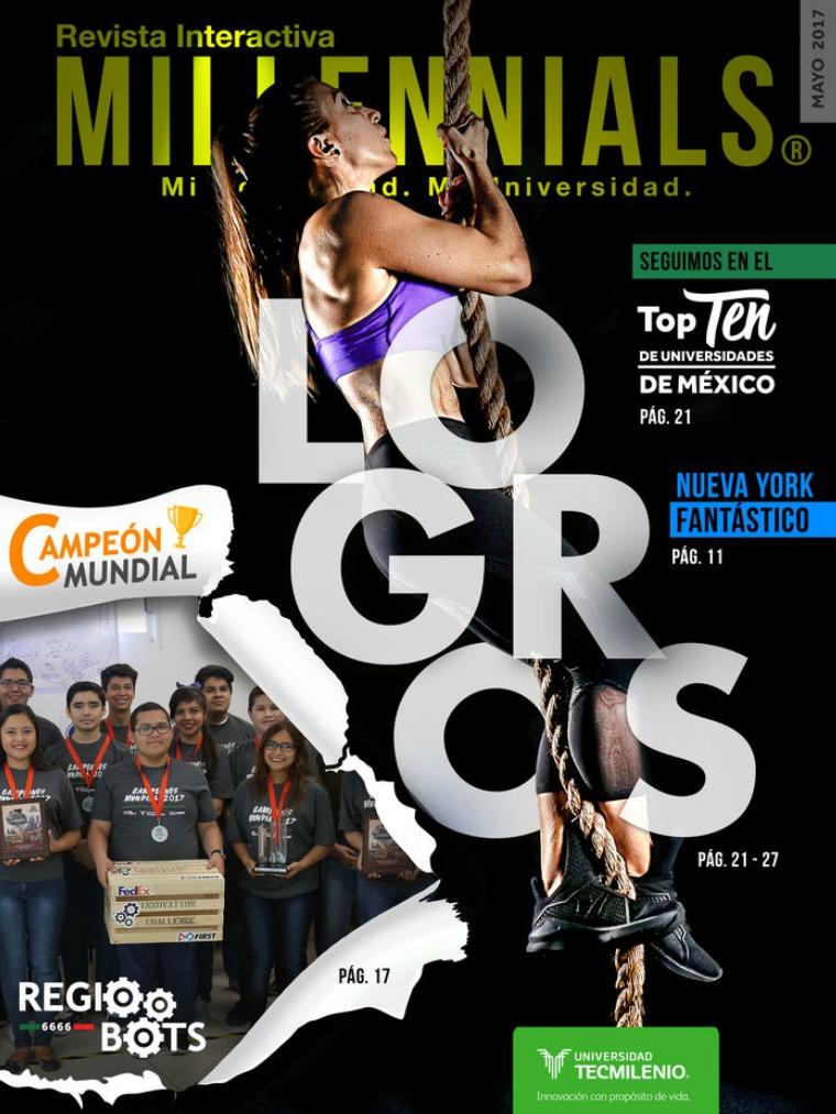 Revista Millennials Mayo 2017