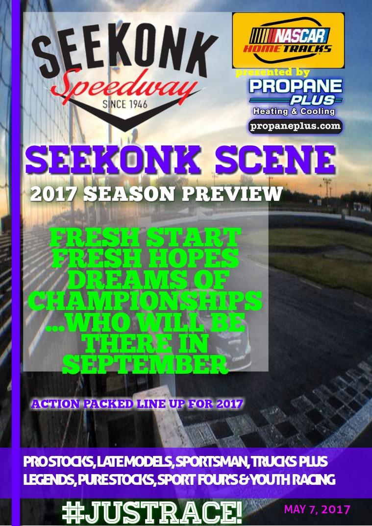 Seekonk Speedway Race Magazine 2017 Season Preview
