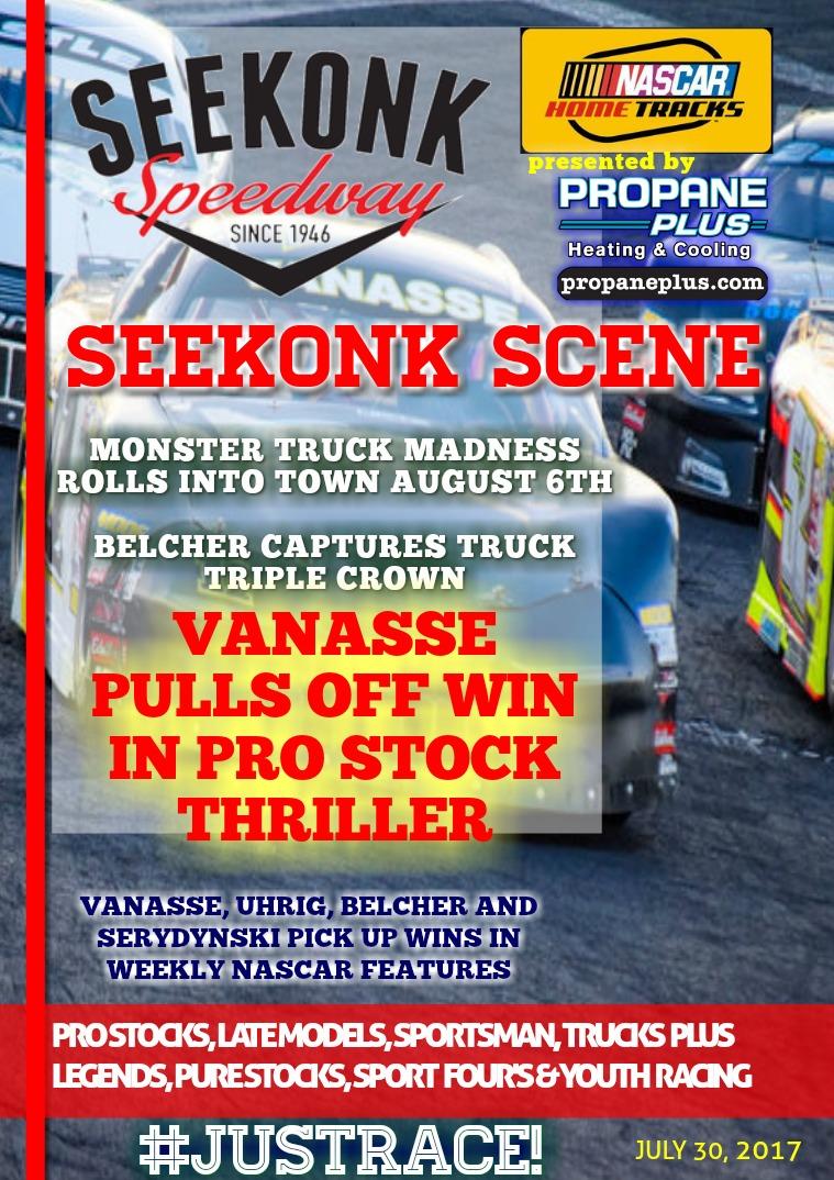 Seekonk Speedway Race Magazine July 28 & 29