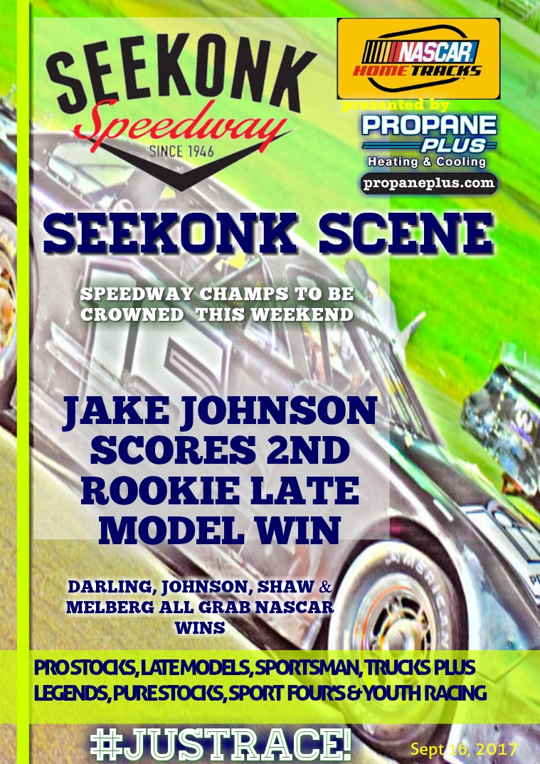 Seekonk Speedway Race Magazine September 15th & 16th
