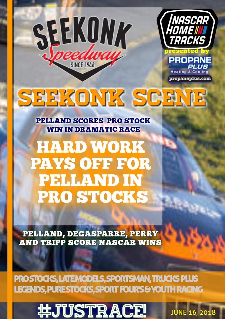 Seekonk Speedway Race Magazine Seekonk Speedway 6.16.18