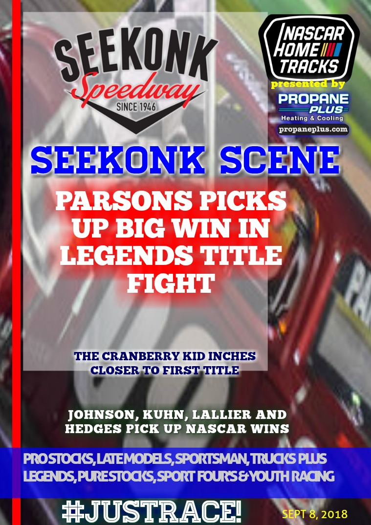 Seekonk Speedway 9.8.18