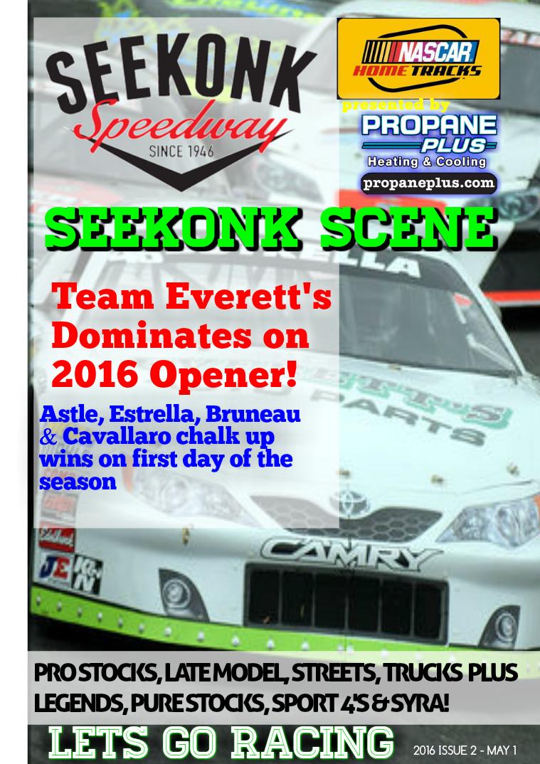 Seekonk Speedway Race Magazine Opening Weekend