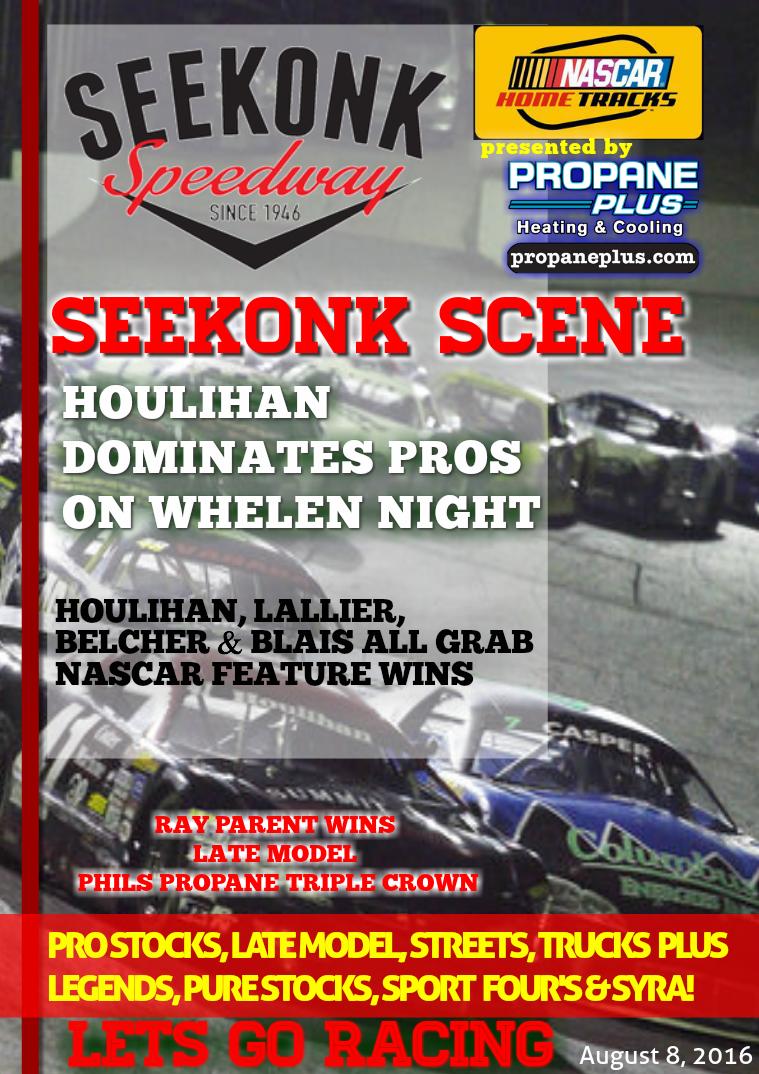 Seekonk Speedway Race Magazine August 5,6,7 Weekend Recap