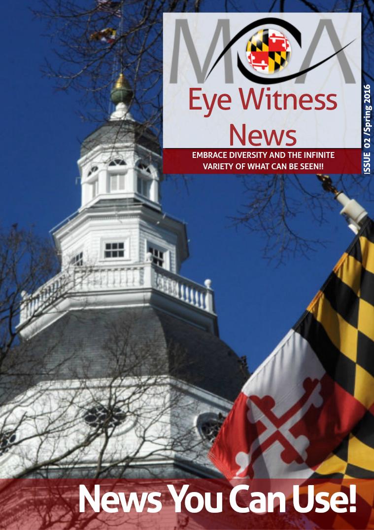 MOA Eye Witness News 2016 Spring Edition