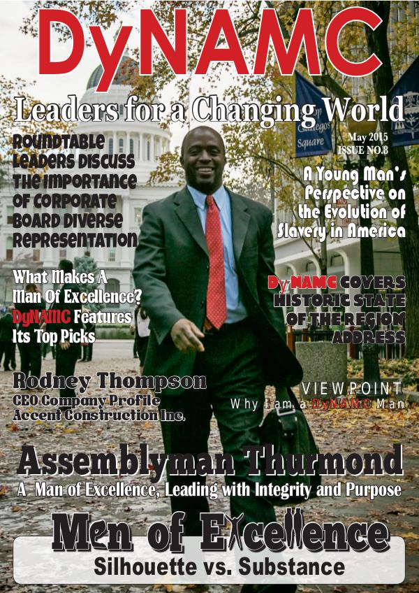 "DyNAMC ""Men of Excellence"" May 2015 Issue 8"