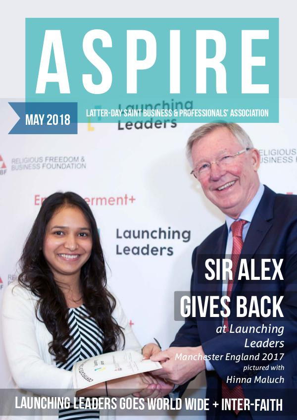 Aspire - LDS Business & Professionals' News NZ Issue#29 Apr 2018