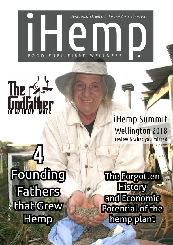 iHemp Magazine iHemp - Issue 1 - Sept 2018