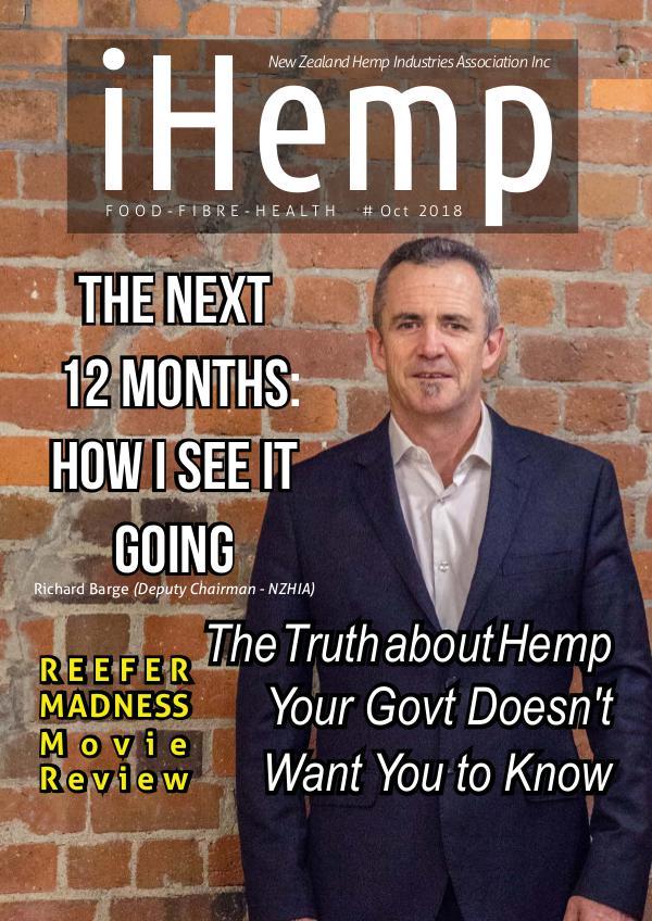 iHemp Magazine iHemp - Issue 2 - Oct 2018