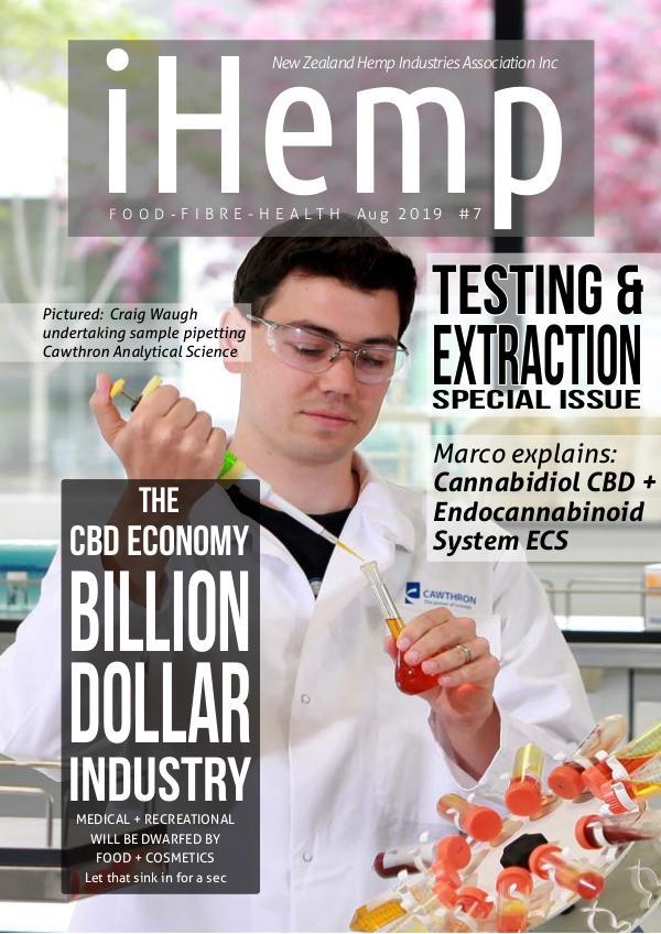 iHemp Magazine iHemp - Issue 7 - Aug 2019