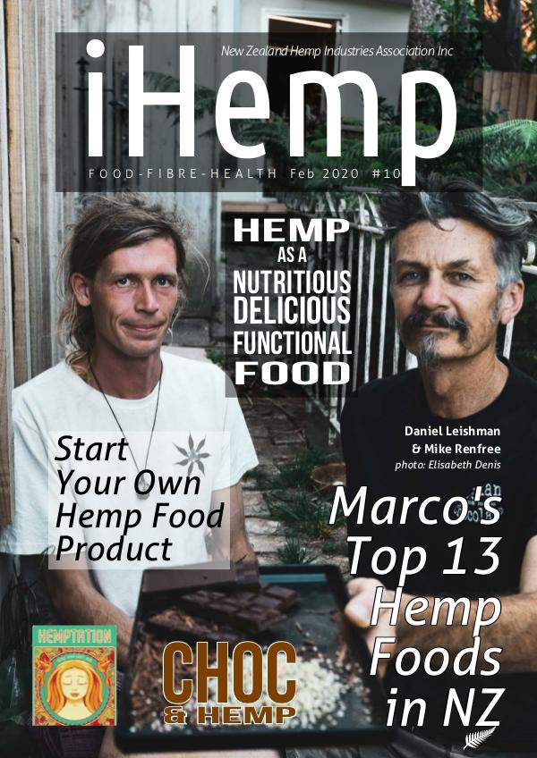 iHemp Magazine iHemp - Issue 10 - Feb 2020