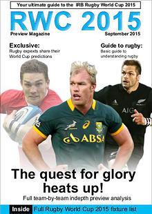 RWC 2015 Preview Magazine