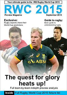 RWC 2015 Preview Magazine