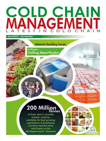 ColdChainManagement Issue-III (July-Sep. 2015) July 2015