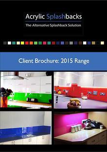 Acrylic Splashbacks Client Brochure 2015