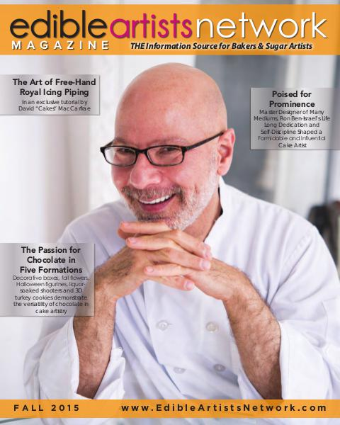 Edible Artists Network Magazine Fall 2015