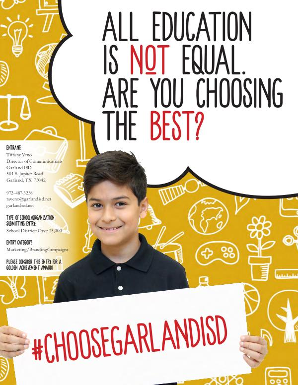 All education is NOT equal. Are you choosing the BEST? All education is NOT equal. Choose the BEST!