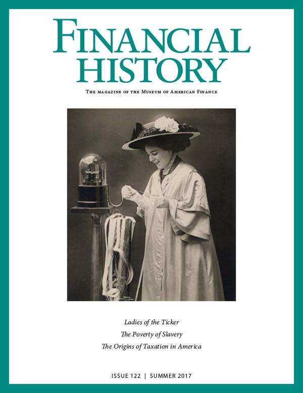 Financial History Issue 122 (Summer 2017)