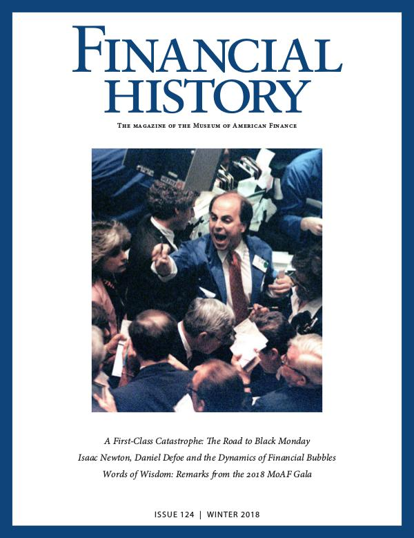 Financial History Issue 124 (Winter 2018)