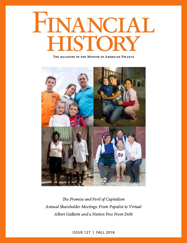 Financial History Issue 127 (Fall 2018)