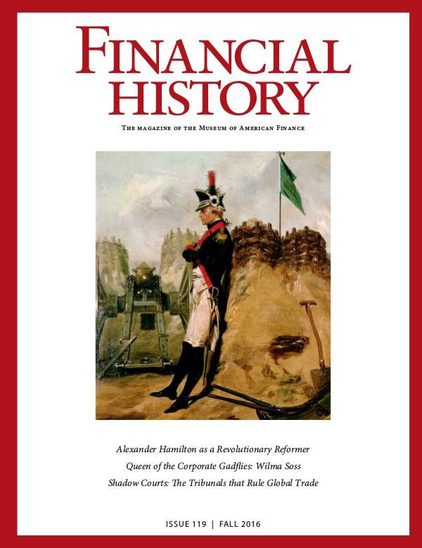 Financial History Issue 119 (Fall 2016)
