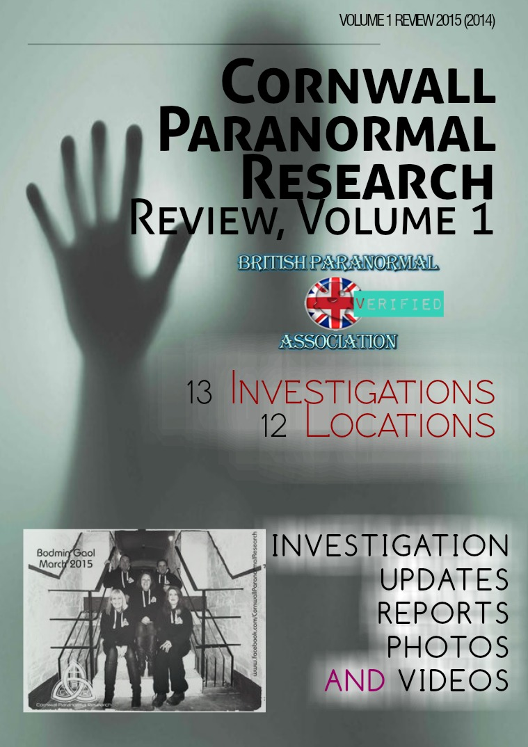 Cornwall Paranormal Research Review Volume 1