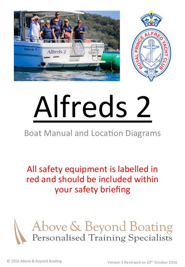 Alfreds I & II Operation Manuals 2