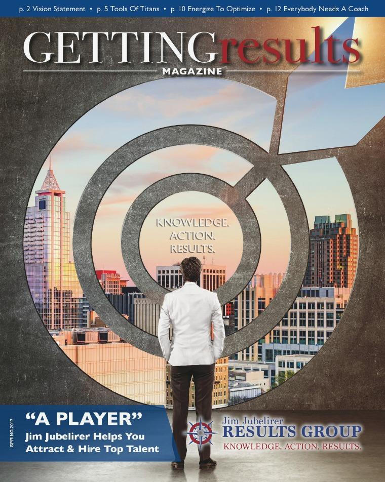 Getting Results Magazine Getting Results Magazine