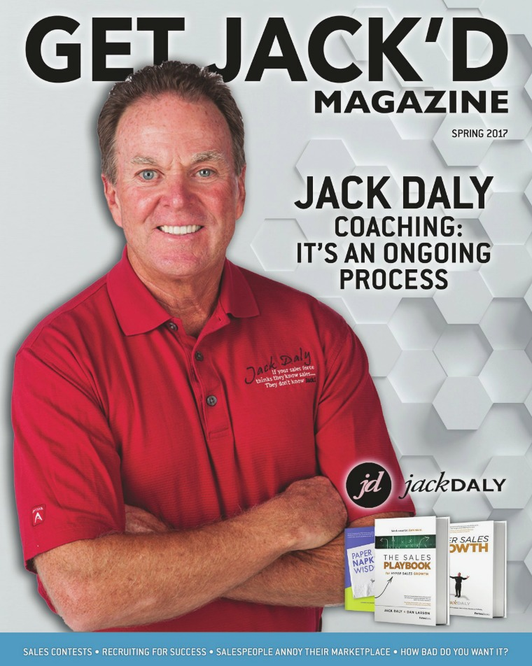 Industry Magazine Get JACK'D Magazine Spring 2017