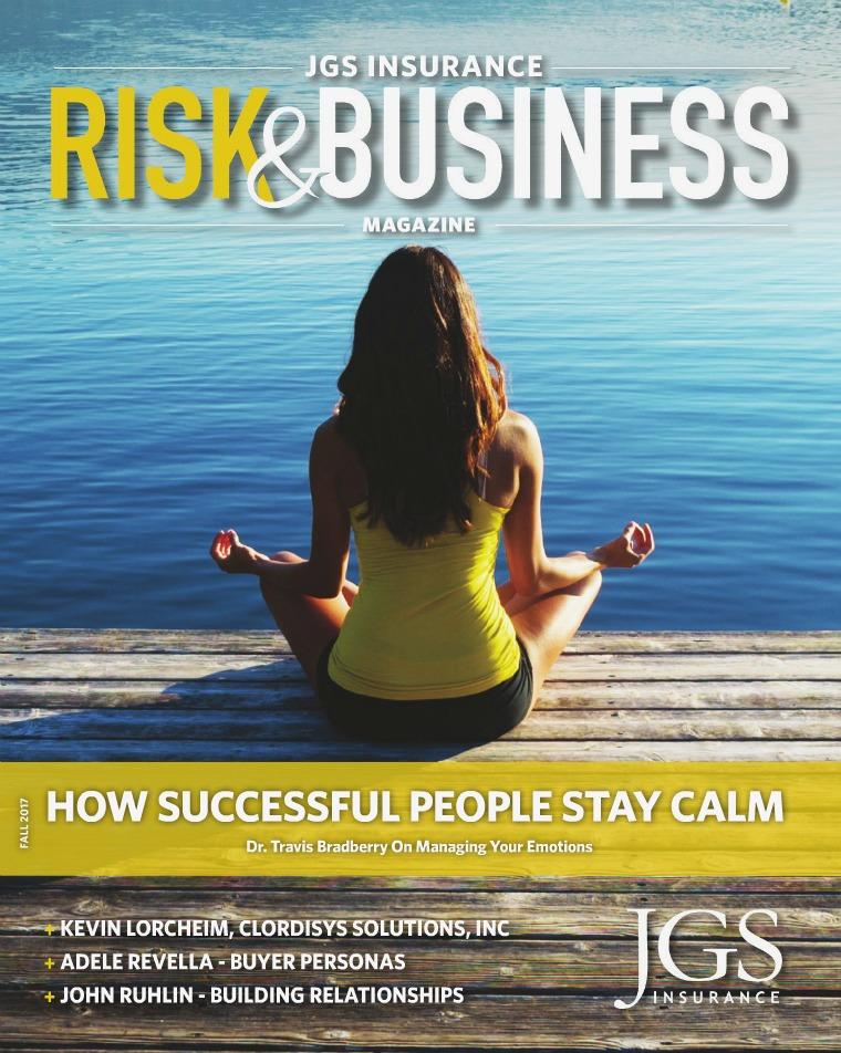 Risk & Business Magazine JGS Insurance Magazine Fall 2017