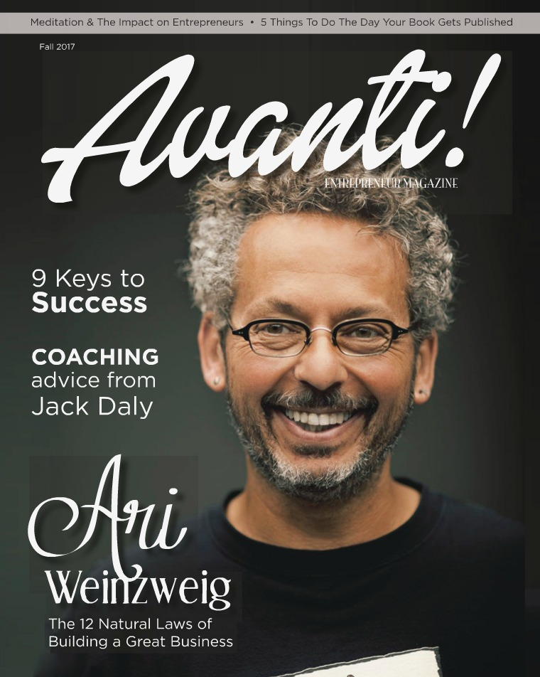 Avanti Entrepreneur Avanti Entrepreneur Magazine Fall 2017